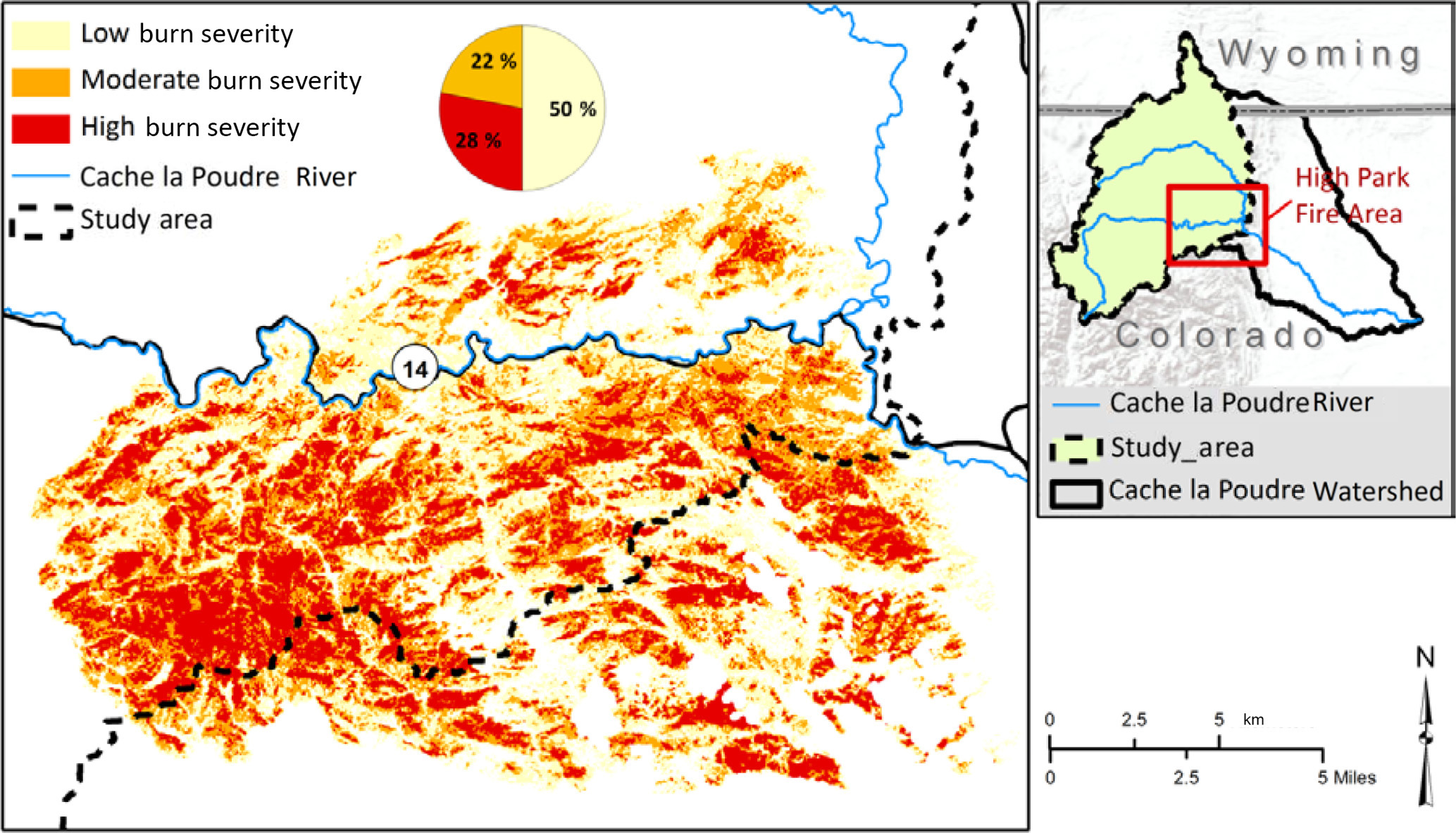 HESS - Assessing the hydrologic response to wildfires in