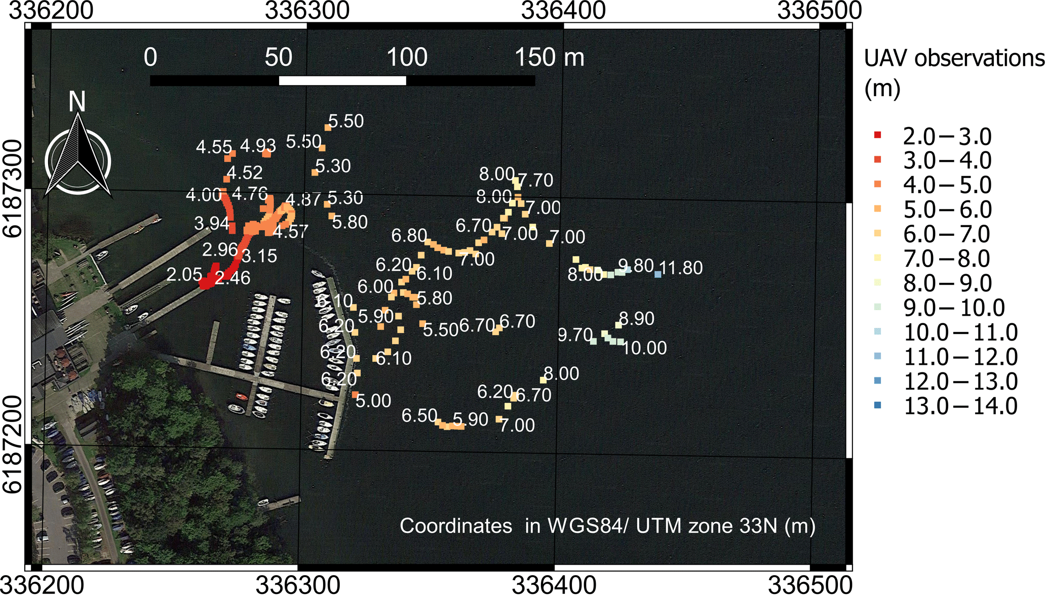 HESS - Technical note: Bathymetry observations of inland