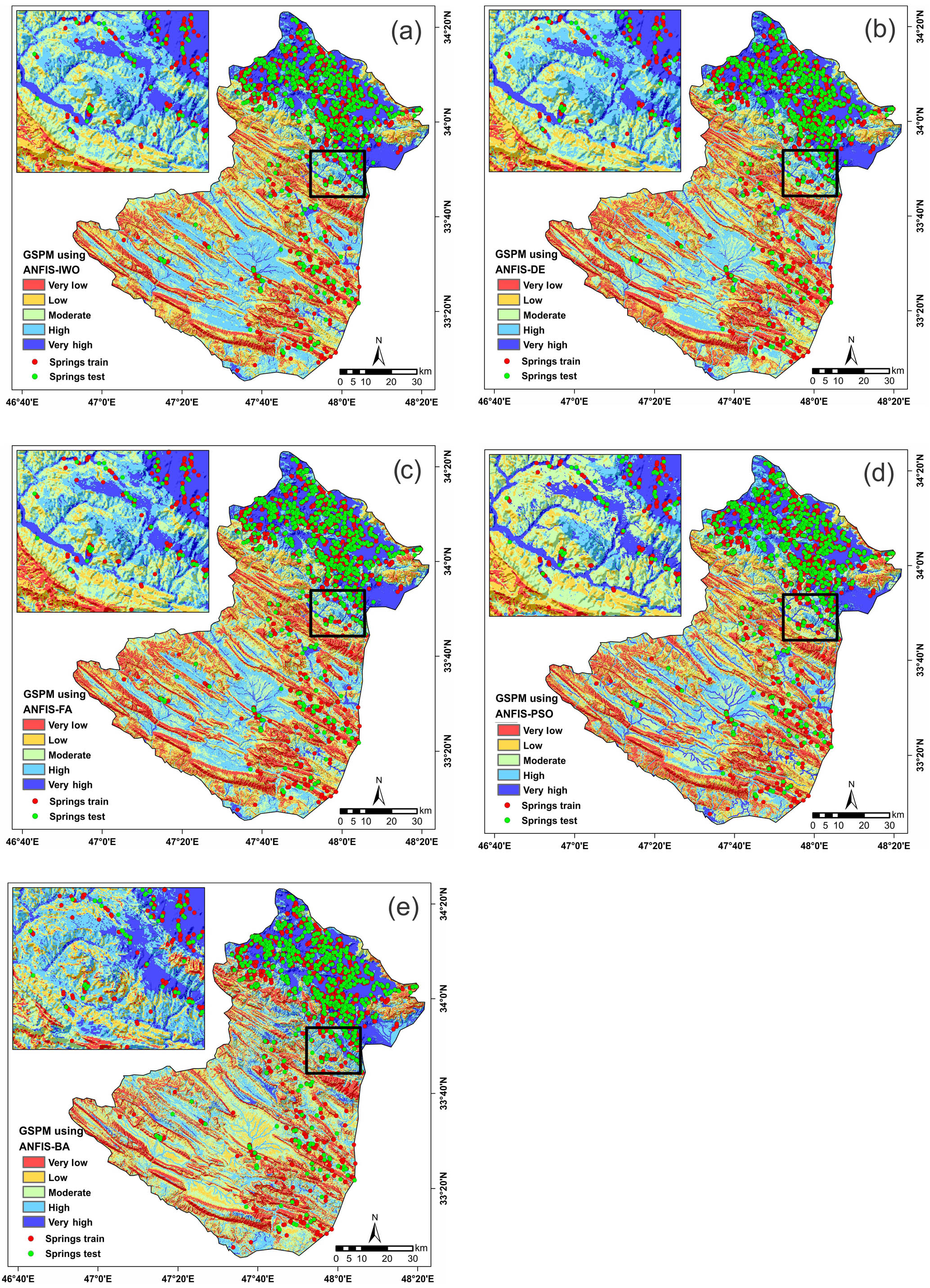 HESS - Spatial prediction of groundwater spring potential mapping ...