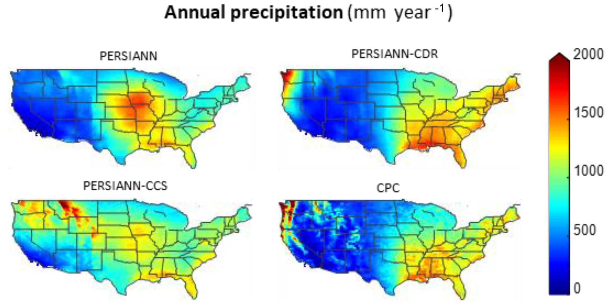 HESS - The PERSIANN family of global satellite precipitation data: a
