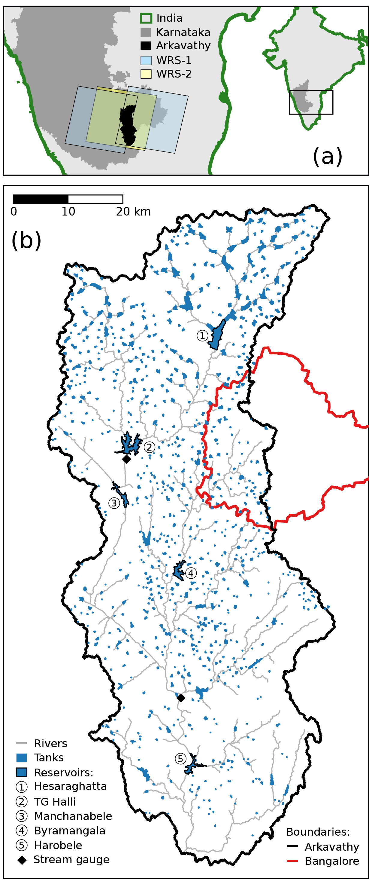 HESS - Spatial characterization of long-term hydrological change in