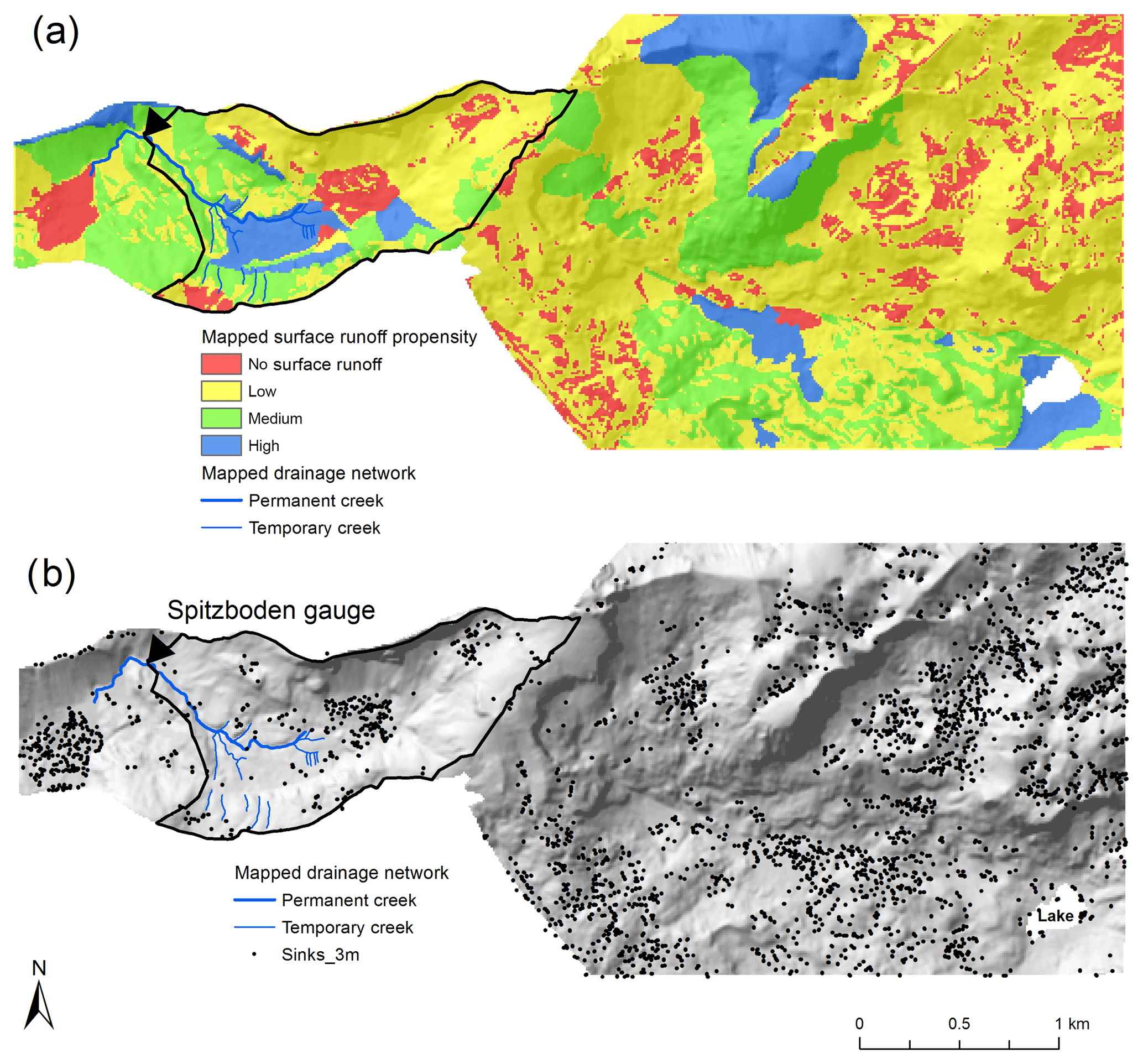 HESS - A propensity index for surface runoff on a karst plateau