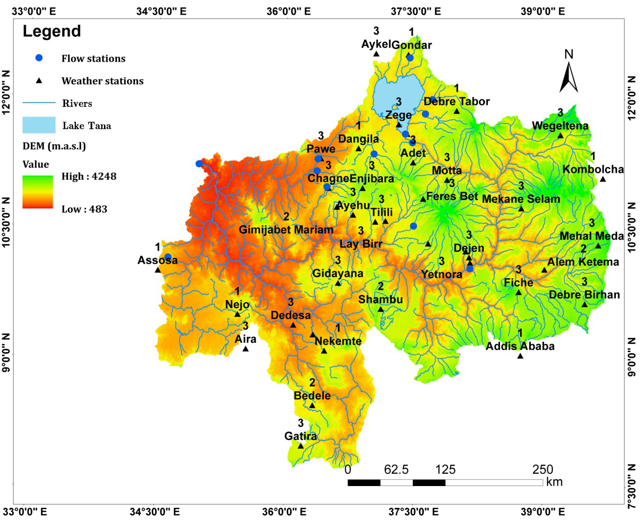 HESS - Analysis of combined and isolated effects of land-use and