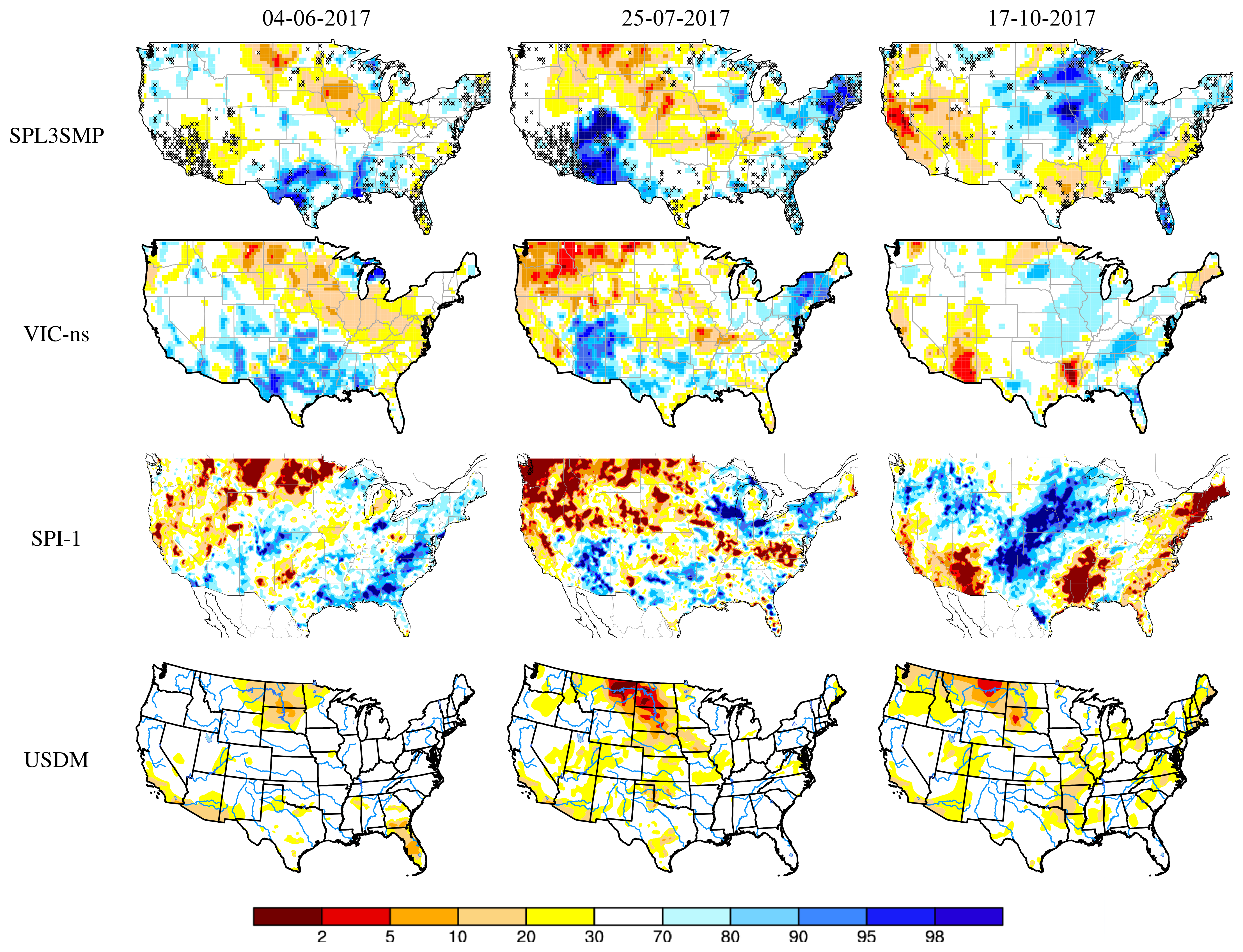 d01726540a7fd HESS - Developing a drought-monitoring index for the contiguous US ...