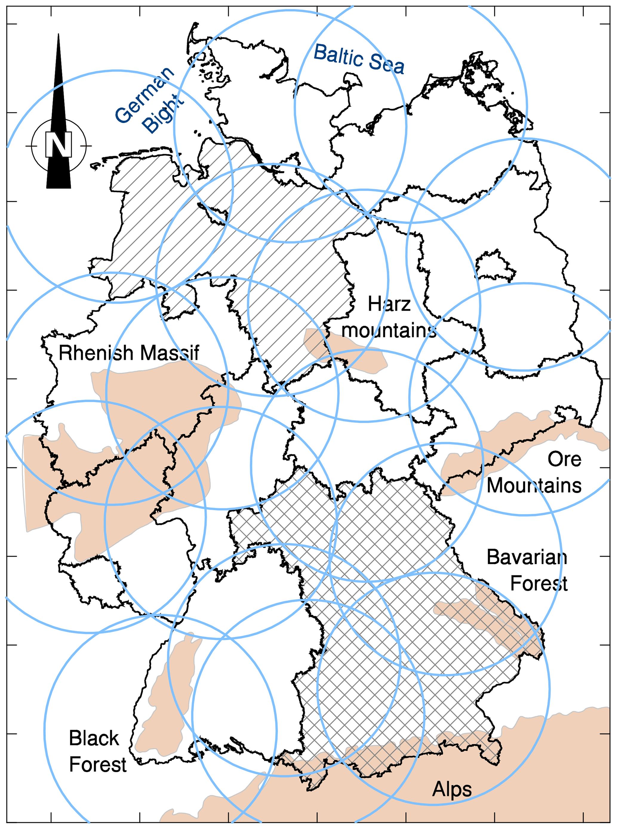 HESS - Rain erosivity map for Germany derived from