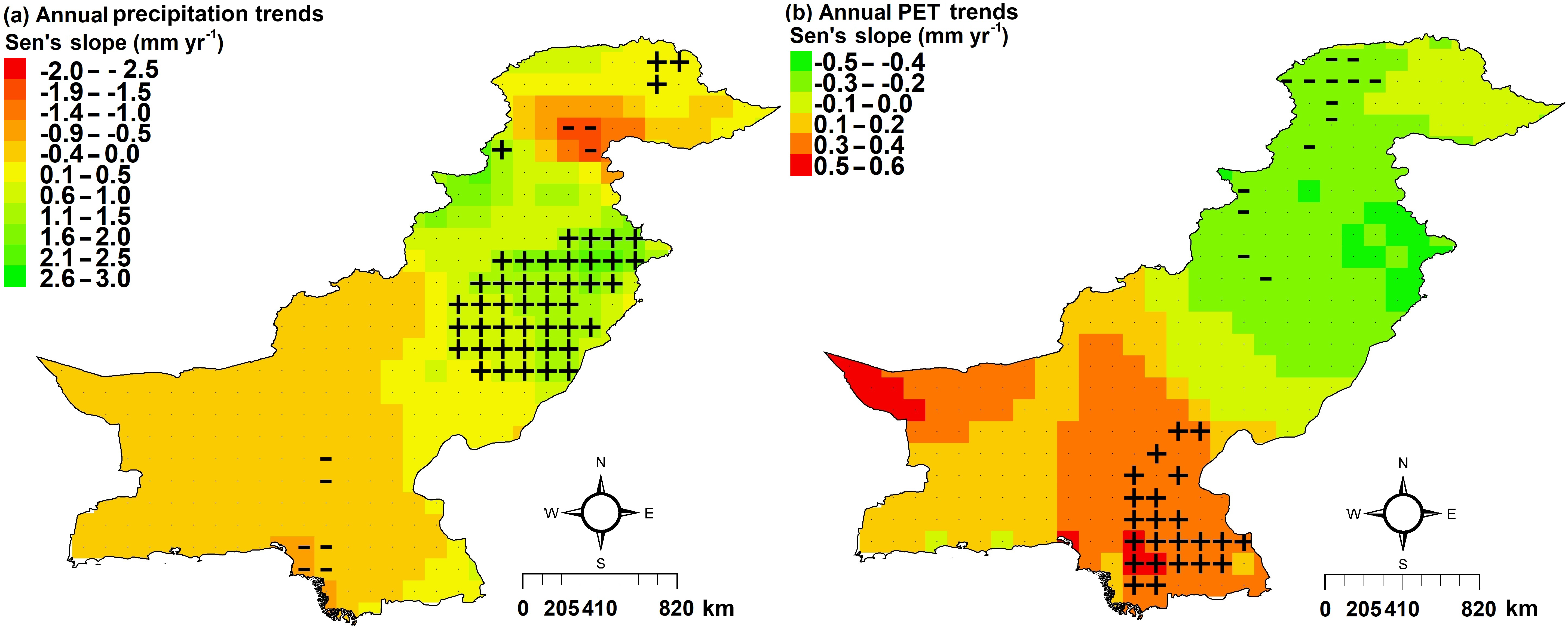 HESS - Spatiotemporal changes in aridity of Pakistan during