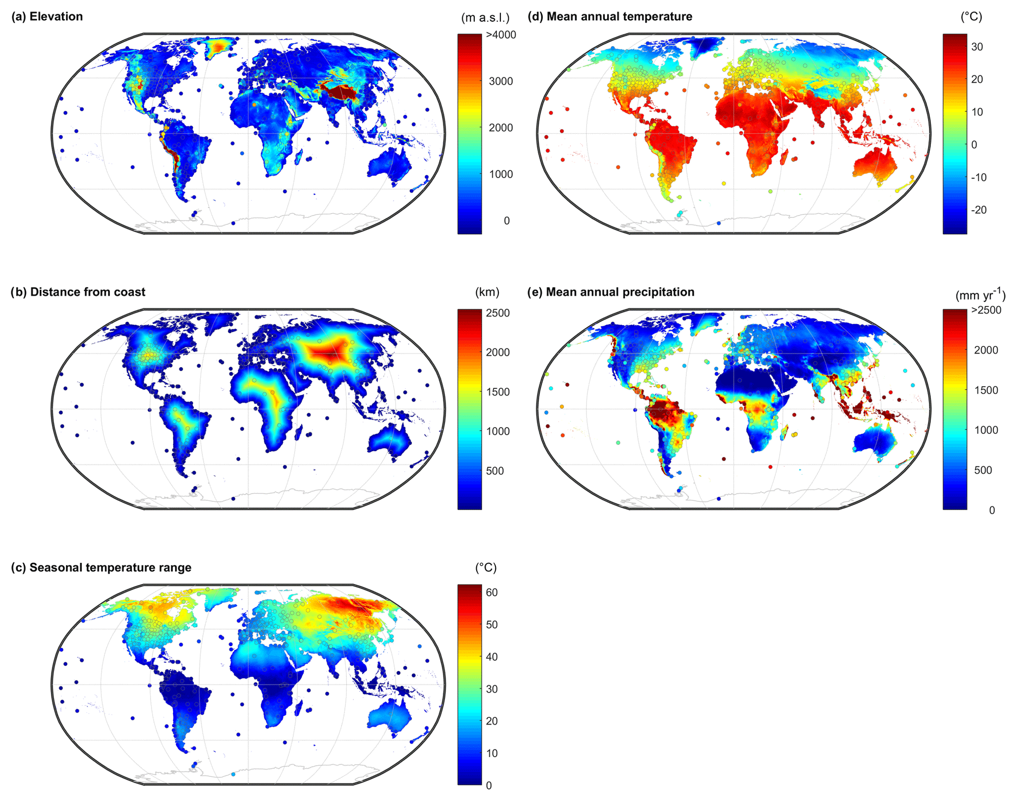 HESS - Global sinusoidal seasonality in precipitation isotopes